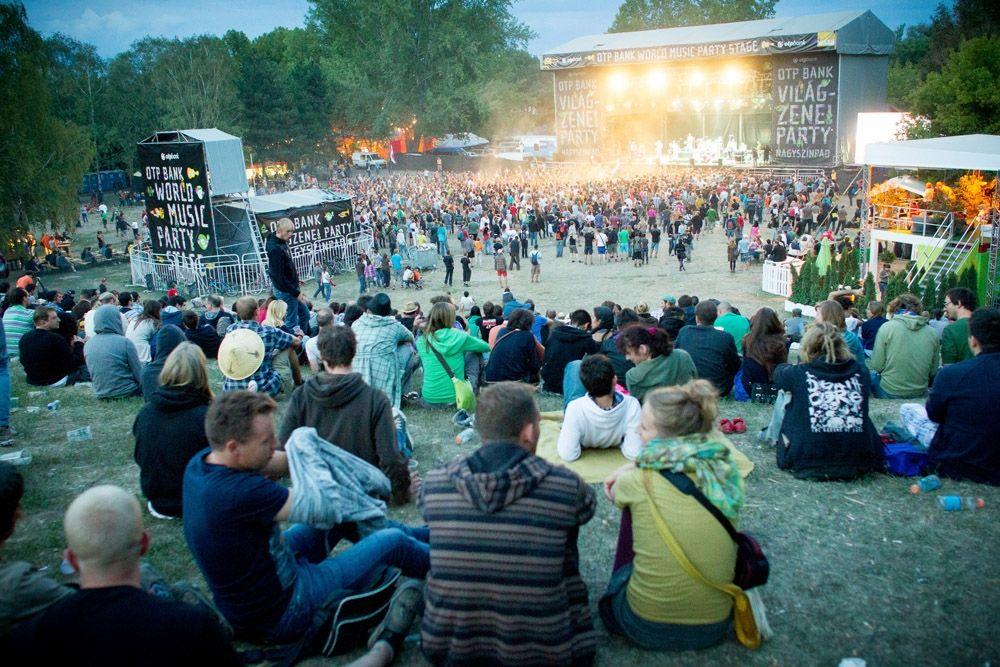 World Music Party Stage. Photo: Sziget/Csudai Sándor
