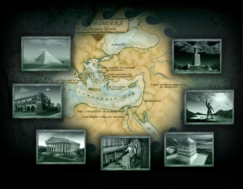 The seven wonders of the ancient world interactive 7 wonders of the seven wonders of the ancient world interactive gumiabroncs Image collections