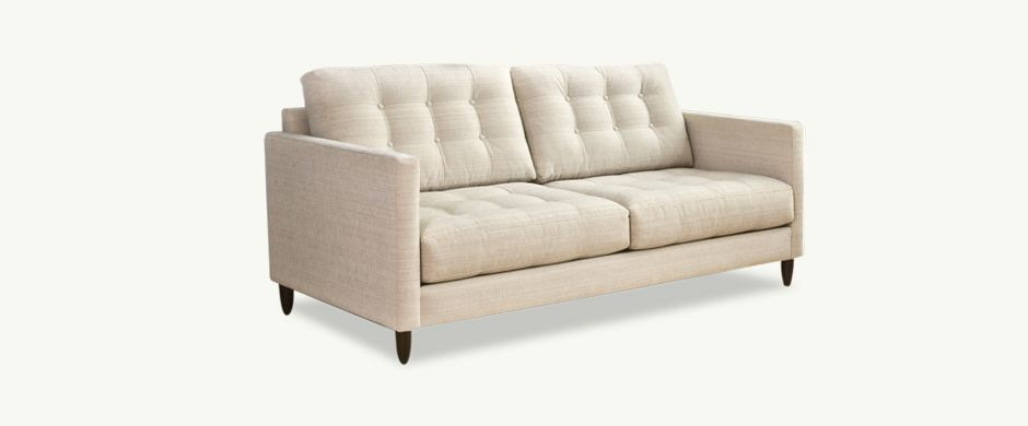 Younger Furniture James Collection 70 Or 85 Mid Century Modern Style Sofa Affordable Mid Century Modern Modern Fabric Sofa