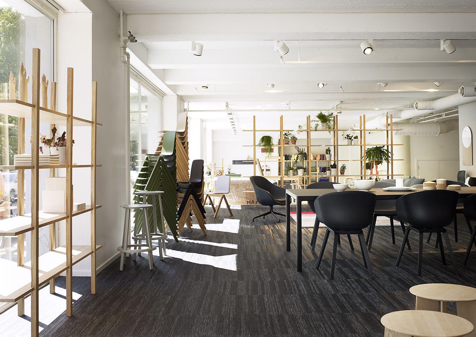 Gulled showroom in Stockholm - HAY - Tom Dixon - MAGIS | Visual ...