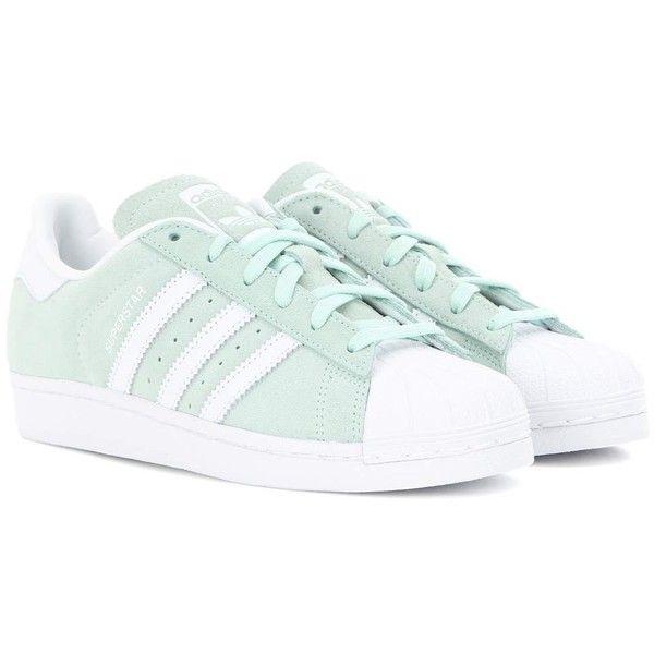 Adidas superstar camoscio (305 scarpe originali sulla penna)