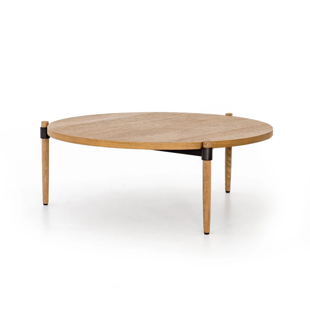Holmes Coffee Table In Smoked Drift Oak In 2020 Home Coffee