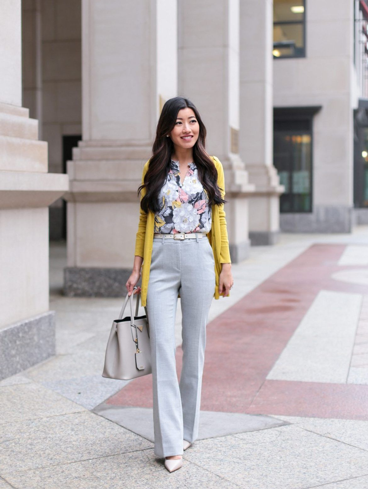 Floral Blouse Petite Work Pants Reviews Extra Petite Spring Work Outfits Work Outfits Women Stylish Work Outfits