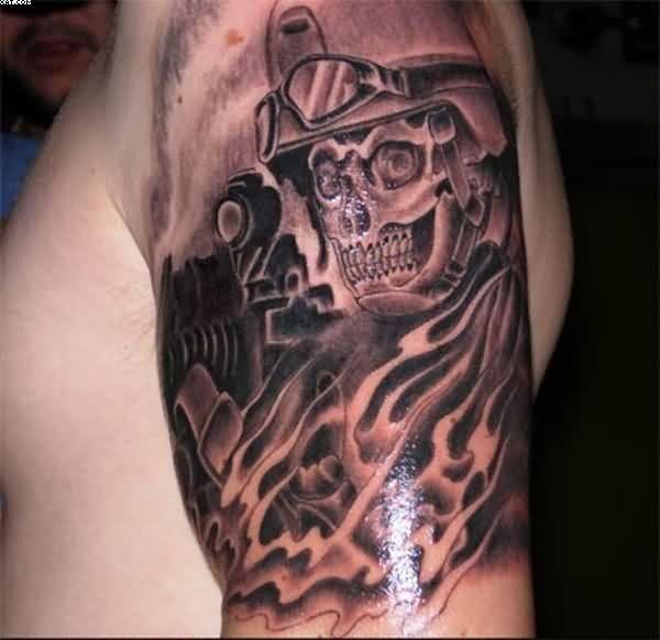 Army Skull With Helmet Tattoo Army Tattoo Designs Amp Ideas Page 22 Military Tattoos Cool Tattoos Army Tattoos