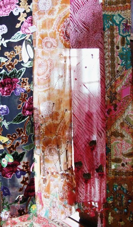 Silk abstract