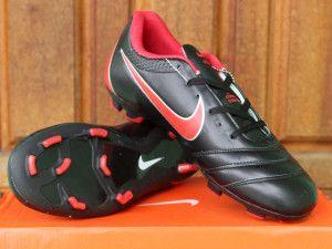 Nike Tiempo Acc Legend Hitam Merah Sepatu