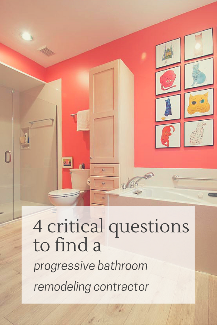 4 critical questions to find a progressive bathroom remodeling