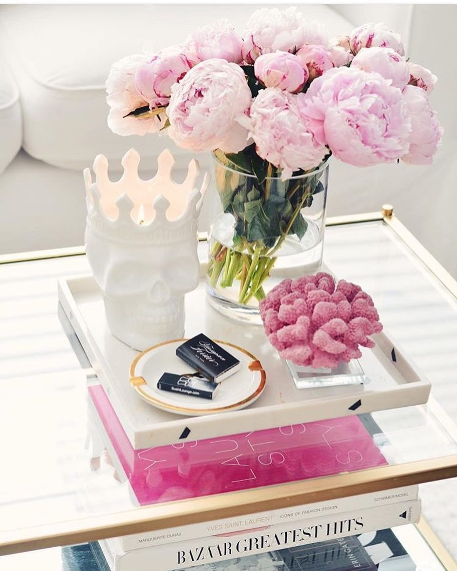 - Pink Coffee Table Decor How To Style A Coffee Table Skulls And