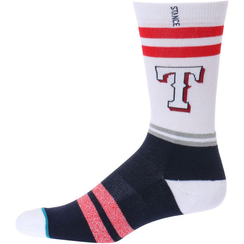 Texas Rangers Stance Heathered Diamond Collection Socks Blue Texas Rangers Socks Collection