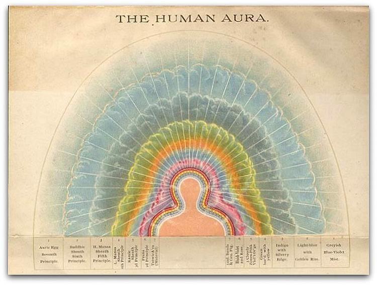 The Human Aura In 2019 Auras Book Of Shadows Illustration