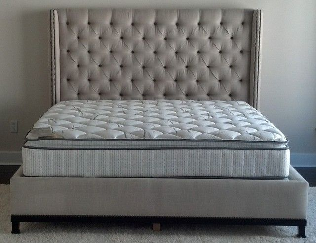 Popular Tufted Bed Frame Decor