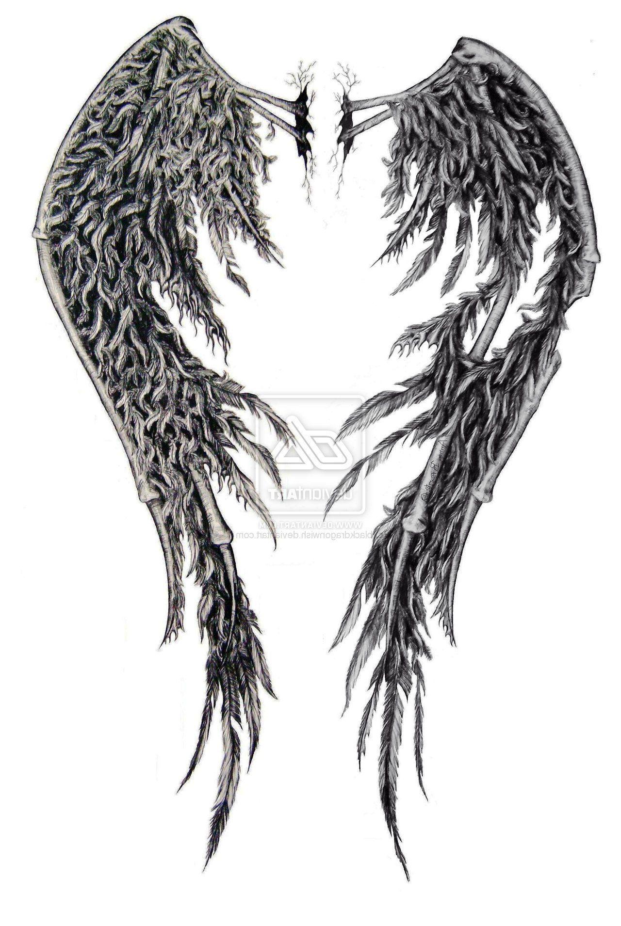 Tattoo Pics Broken Wings Tattoo Fallen Angel Wings Angel Wings