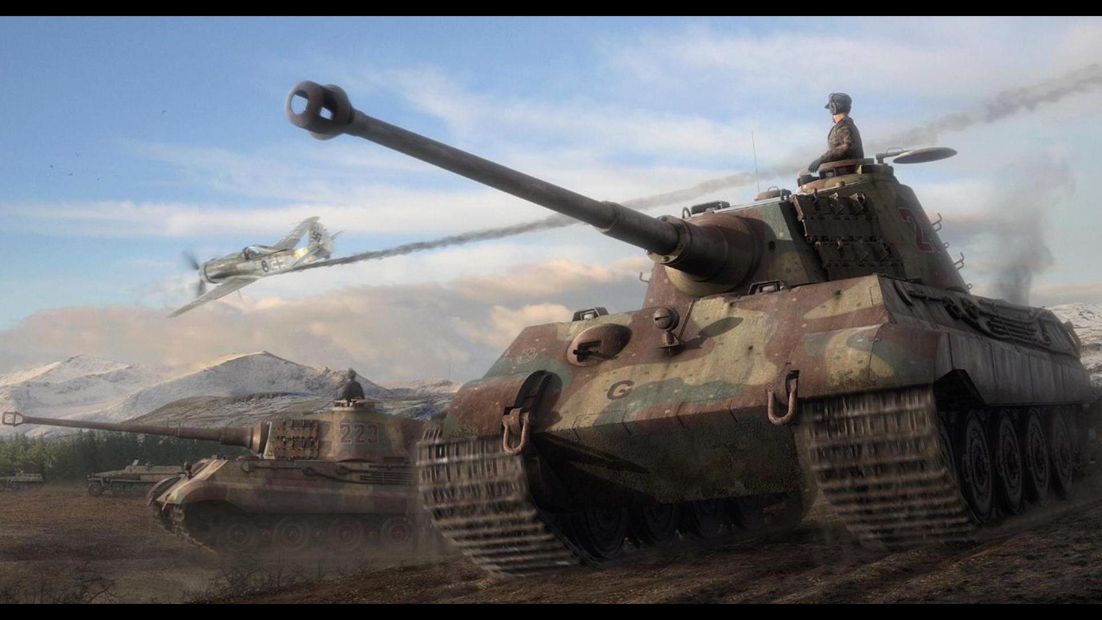4k Tank 3840x2160 Tank Wallpaper Tank Tiger Illustration
