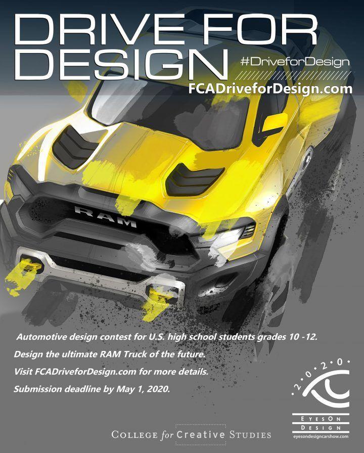 FCA US Drive for Design Contest 2020  #CarDesign #FCA #automotivedesign #autodesign #cardesignworld #cardesignercommunity #cardesignpro #carbodydesign #cardesigner #vehicledesign #ram #dodgeram #ramtruck #designcontest