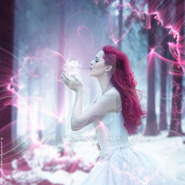 Ice Crystal by ForestGirl on DeviantArt