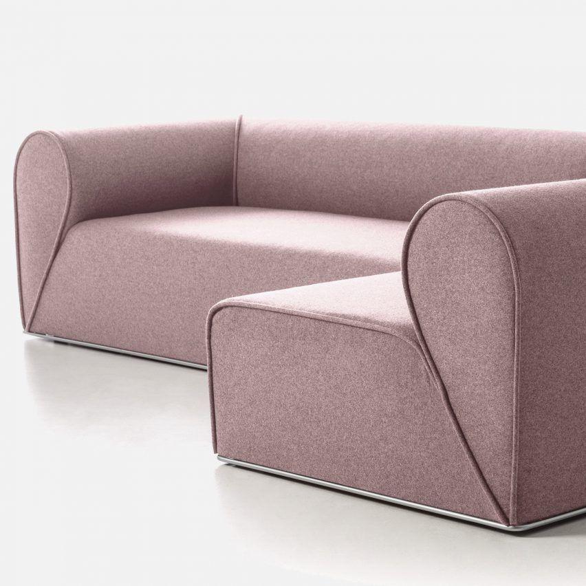 Johannes Torpe Designs Heartbreaker Sofa For Moroso After A Breakup Sofa Sofa Set Designs Upholstered Sofa
