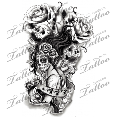 Black And White Half Sleeve Black And White Sleeve Entry 1 Rose Additions 113844 Creat Sleeve Tattoos For Women Sleeve Tattoos Black And Grey Tattoos