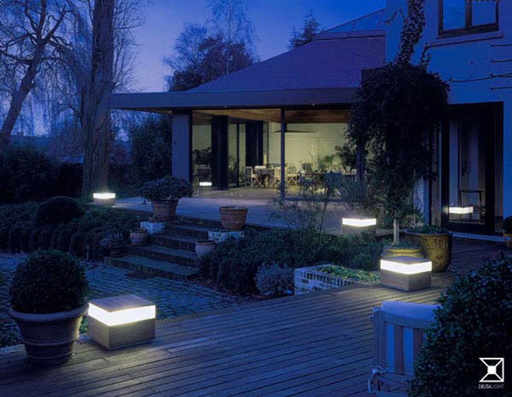 Bon Decorating , Simple Landscape Lighting Ideas To Freshen Up Your Garden : Garden  Lighting Design Ideas