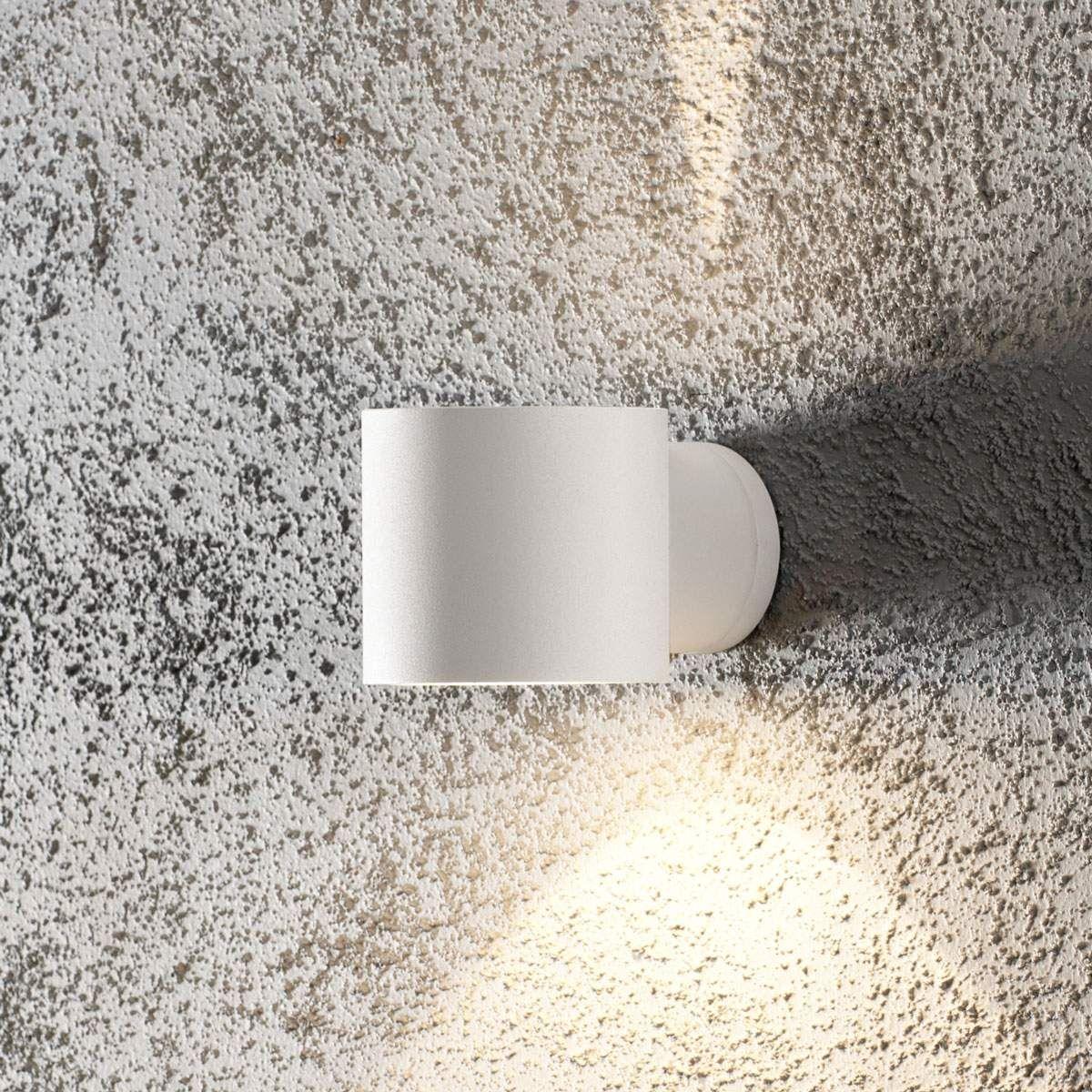 LED Wand Leuchte rund Down Strahler Außen Beleuchtung IP54 Lampe Licht Eco Light