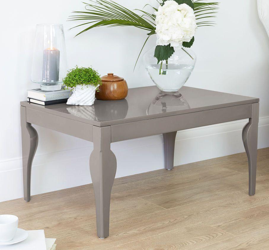 Eva Taupe Grey Gloss Coffee Table Living Room Furniture Uk Coffee Table Living Room Coffee Table