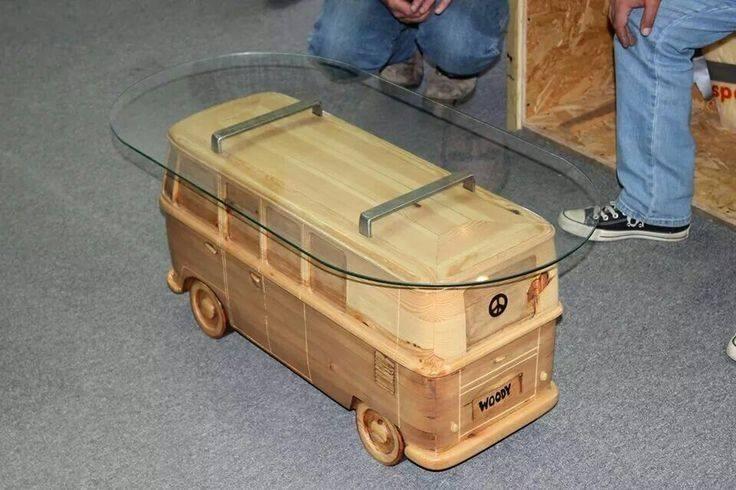 Table Combi Vw Camping Car Transporteur Volkswagen Coccinelles Vw