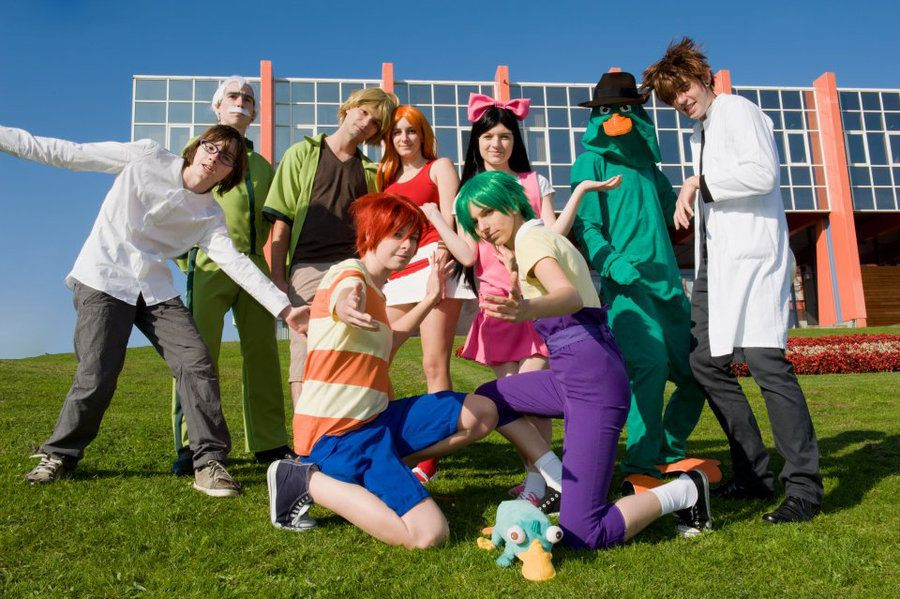 phineas and ferb carpe diem by shamanrenjideviantartcom pnf cosplayers omigosh - Phineas Halloween Costume