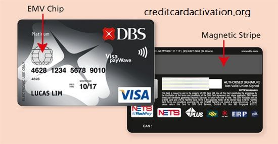 dbs card activation 2019  visa card numbers magnetic