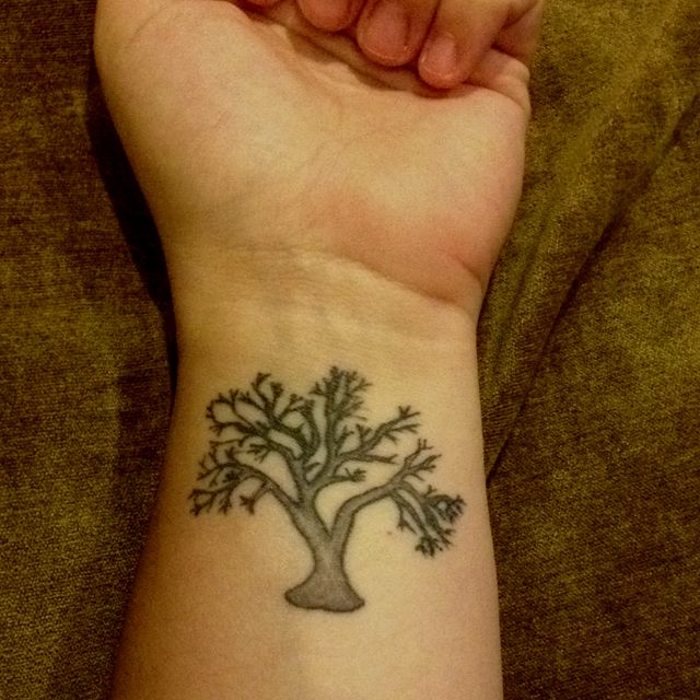 My beautiful tattoo. For me it symbolizes family, strength ...