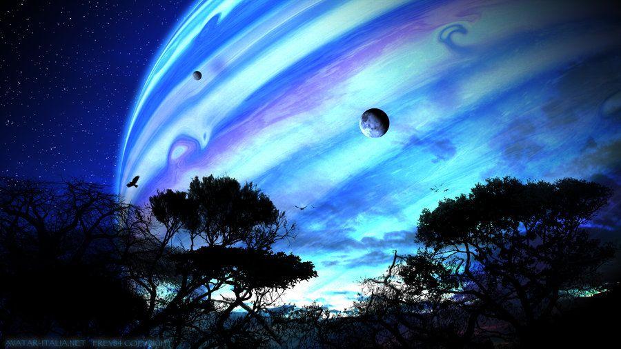 Avatar, Pandora planet, planeta Pandora