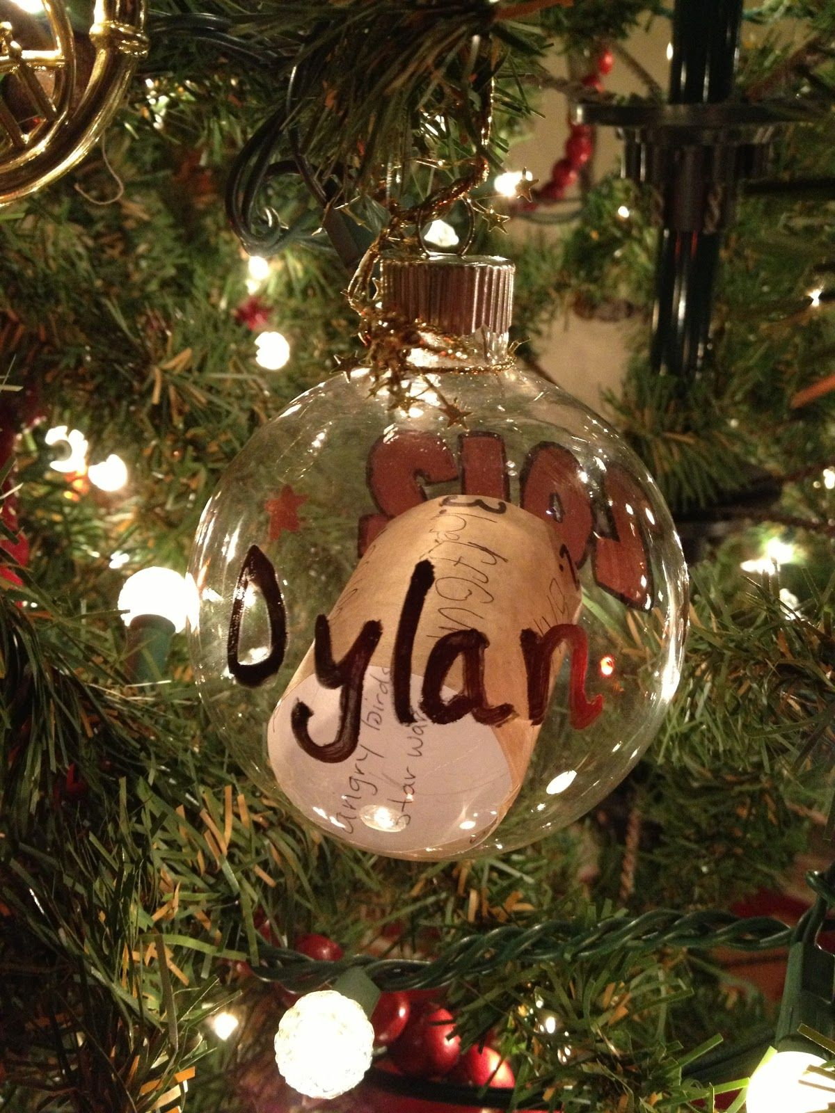 Wish List Ornaments A New Holiday Tradition Have Your Kids Write