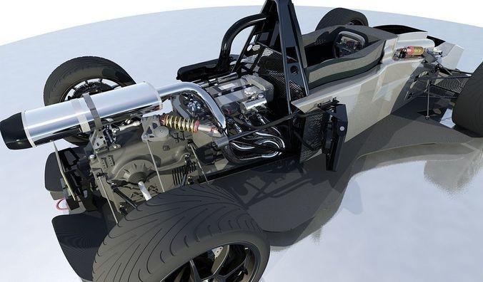 Superieur Sports Car With Details BAC MONO