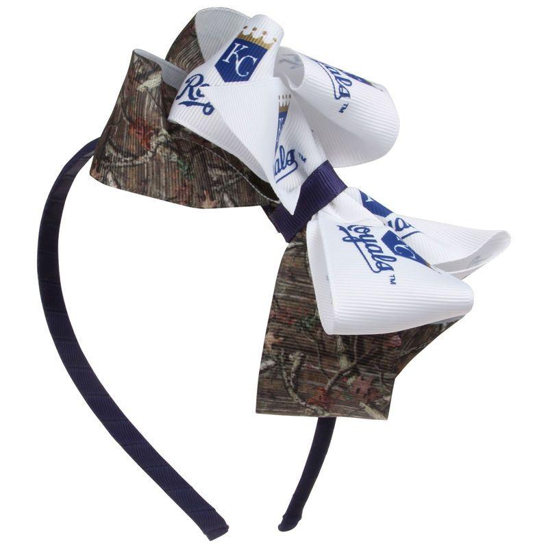 Kansas City Royals Women's Mossy Oak Wrapped Headband with Double Bow