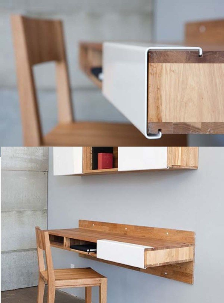Fabulous Modern Desk Ideas for Functional And Enjoyable Office - DIY
