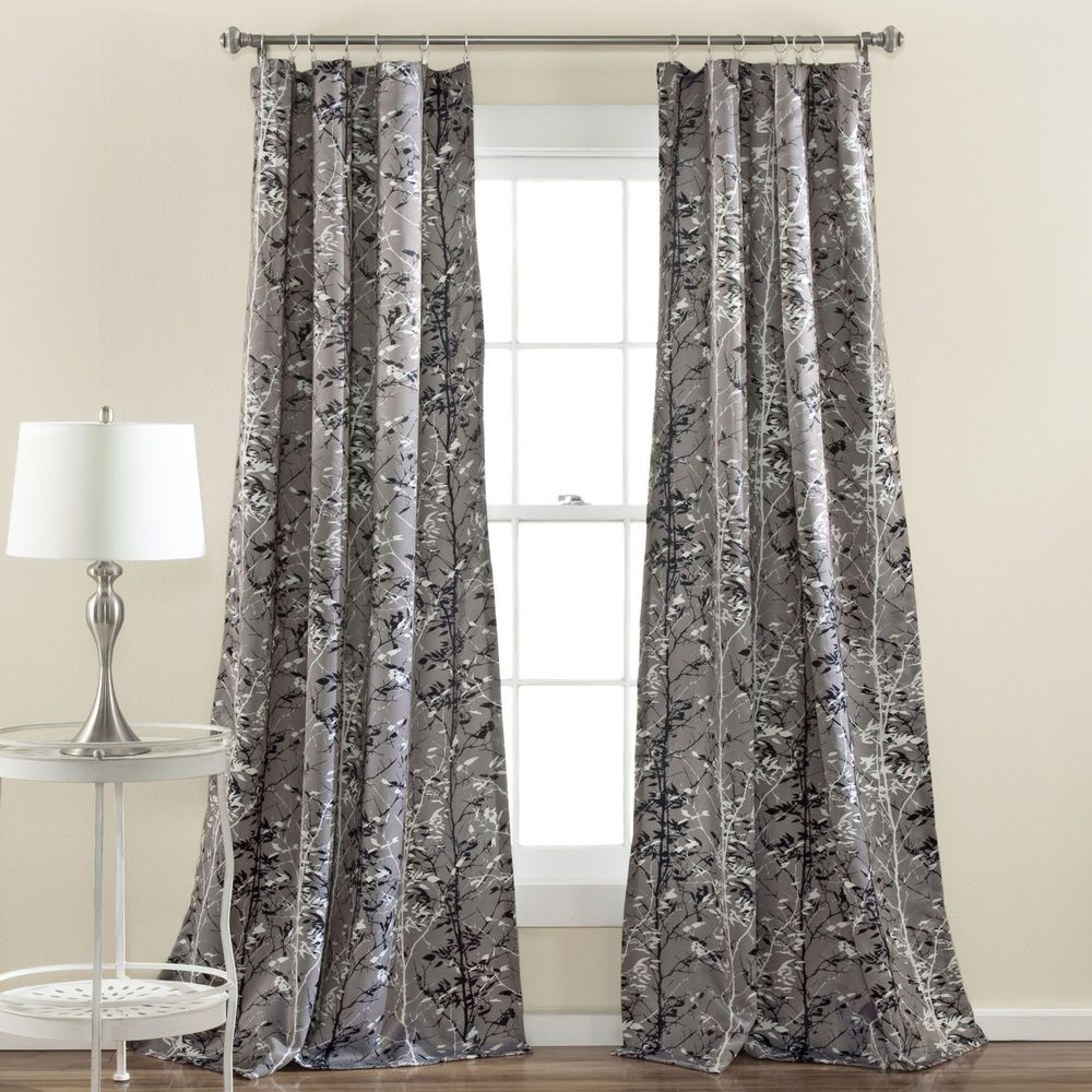 4 window curtain ideas  special edition by lush decor forest window panel  home decor ideas