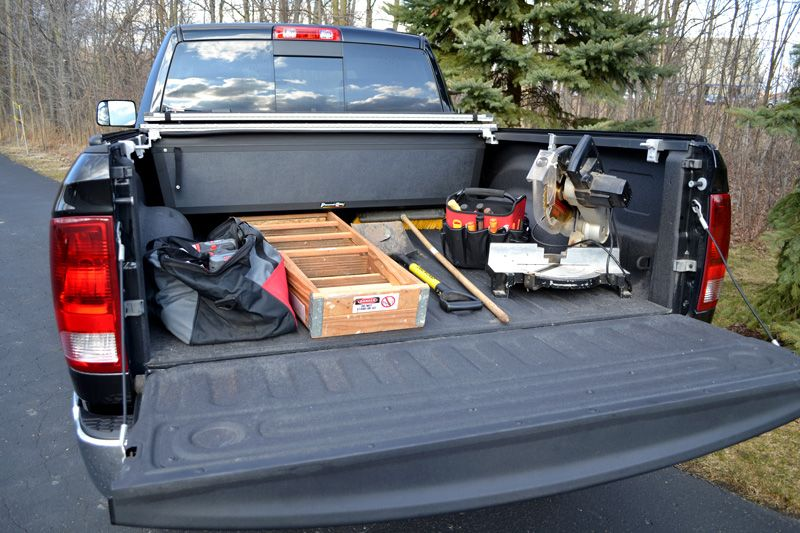 Fold A Cover >> The Fold A Cover Hard Folding Tonneau Cover Locks Both The Truck Bed