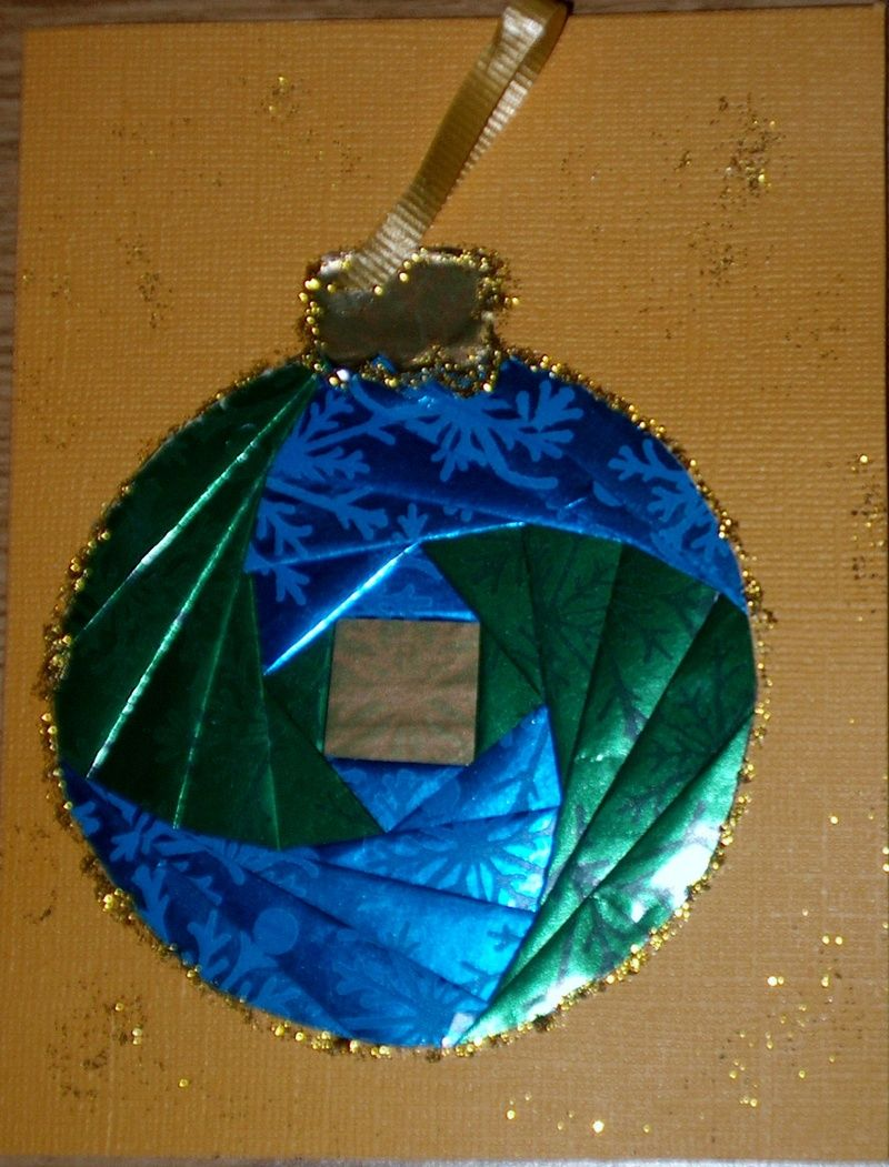 Iris Paper Folding -ornament