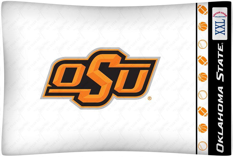Oklahoma St. Cowboys Micro Fiber Pillow Case Logo