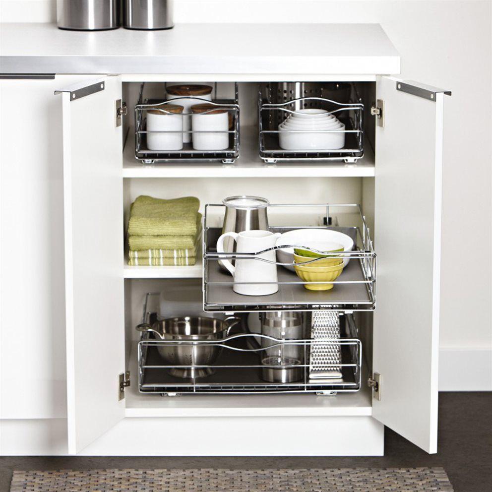 Simplehuman Inbouw Keukenkast Organiser Koken