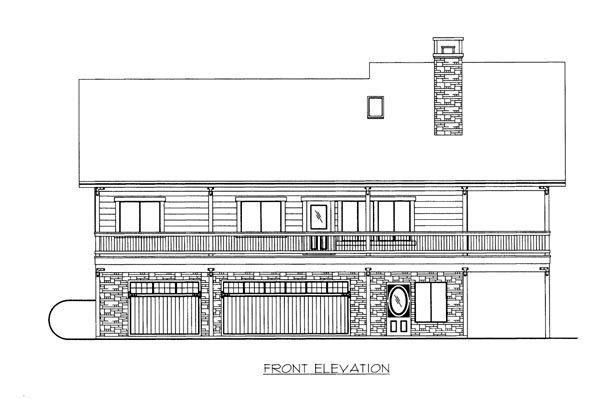 House Plan 86670