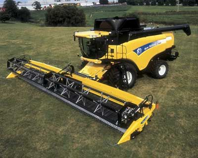 Largest Combine Made New Holland New Holland Agriculture New