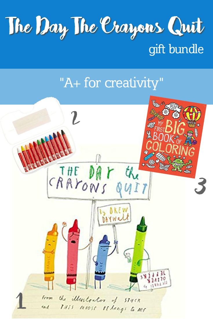 The Day Crayons Quit Kids Childrens Presents Gifts Birthday 2nd 3rd 4th 5th Best Amazon Prime