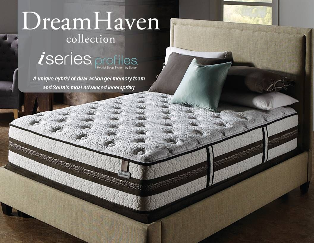 The Dreamhaven Iseries Hybrid Mattresses Combine The Same Memory