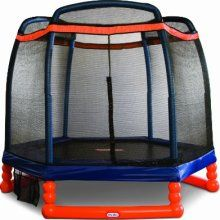 ENCLOSED TRAMPOLINE for children, kids, teens or adults. Simplify gift giving by registering a gift on Wishgift.ca. Provide guests a gift-option and allow them to be part of a group-gift.