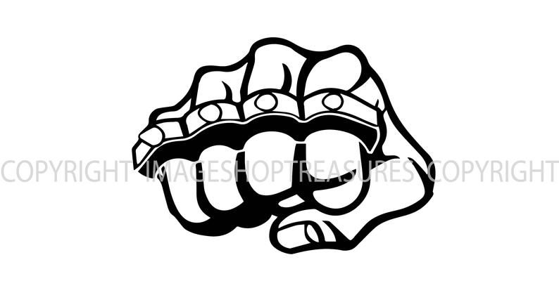Brass Knuckles Fist Logo Thug Gangster Street Fight Fighting Etsy In 2021 Brass Knuckles Brass Knuckles Drawing Graffiti Lettering