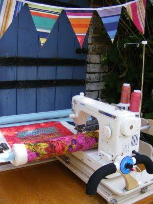 Portable Tabletop Quilt Frame
