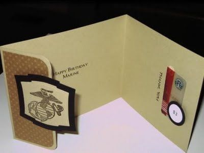 My military hero marine corps birthday card w gift card slot my military hero marine corps birthday card w gift card slot bookmarktalkfo Gallery