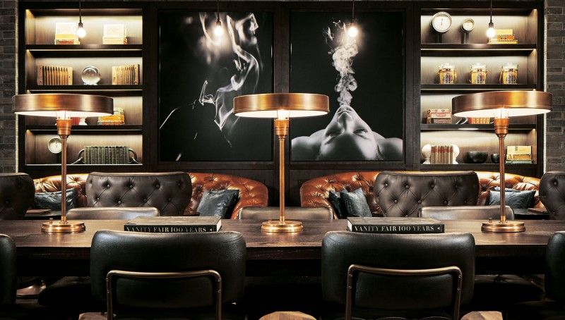 Montecristo Cigar Bar is Las Vegasu0027 Newest, Offering More Than - bar fürs wohnzimmer