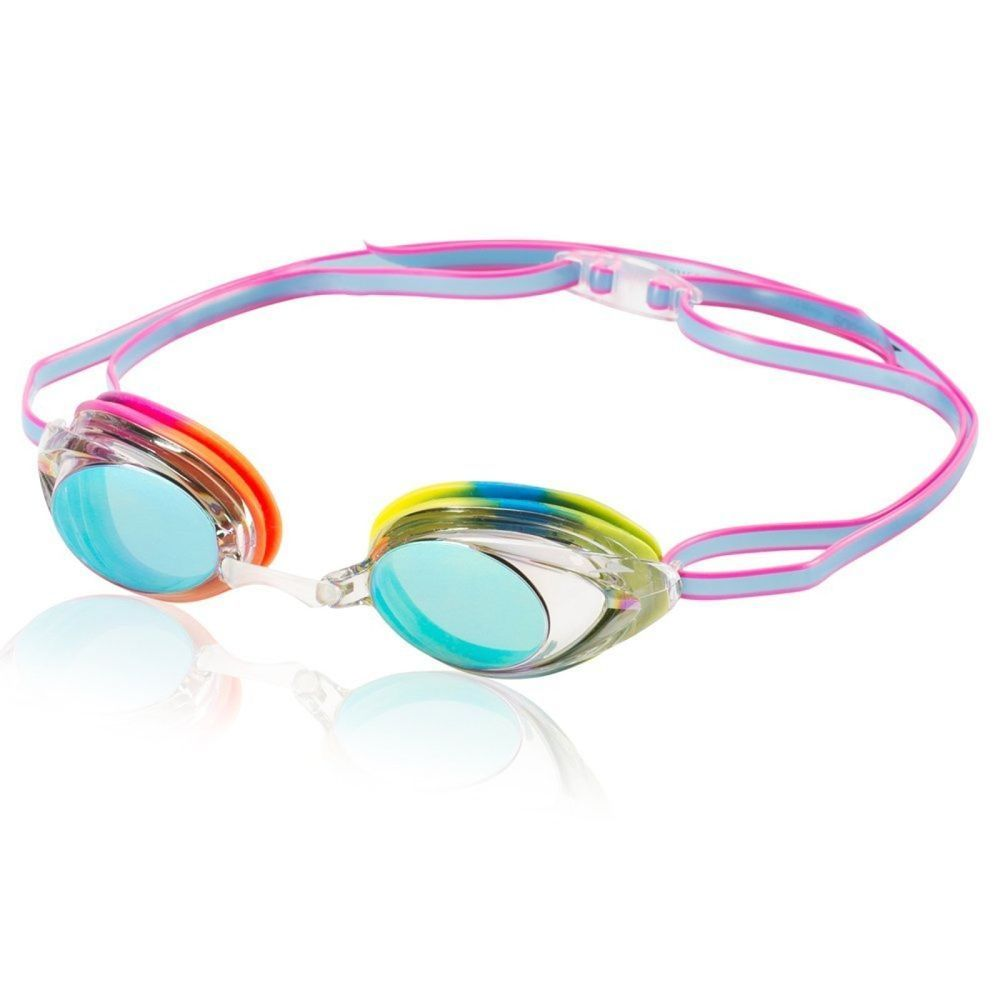 Swimming Goggles Vanquisher Mirrored UV Protected Lens with Anti Fog