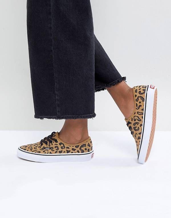 vans estampado leopardo