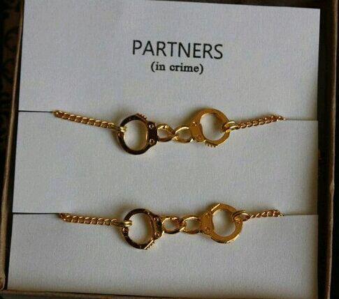 976b2014c Pulseras | via Tumblr | We ride together/ we die together in 2019 | Best  friend bracelets, Friend bracelets, Partners in crime bracelet